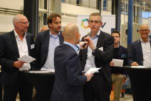 Eric van den Heuvel tijdens presentatie actiemanifest Platform Duurzame Biobrandstoffen