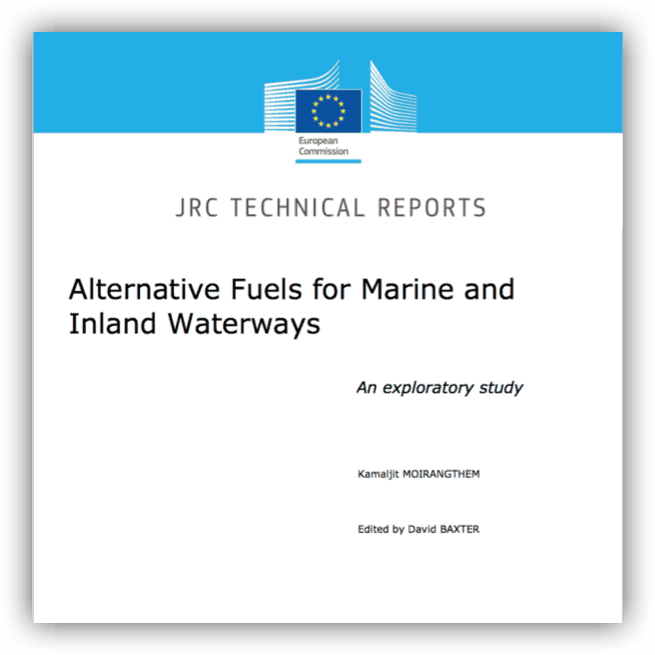 Alternative Fuels for Marine and Inland Waterways. An exploratory study (mei 2016)