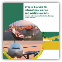 Drop-in biofuels for international marine and aviation markets