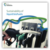 RAEng – Sustainability of liquid biofuels