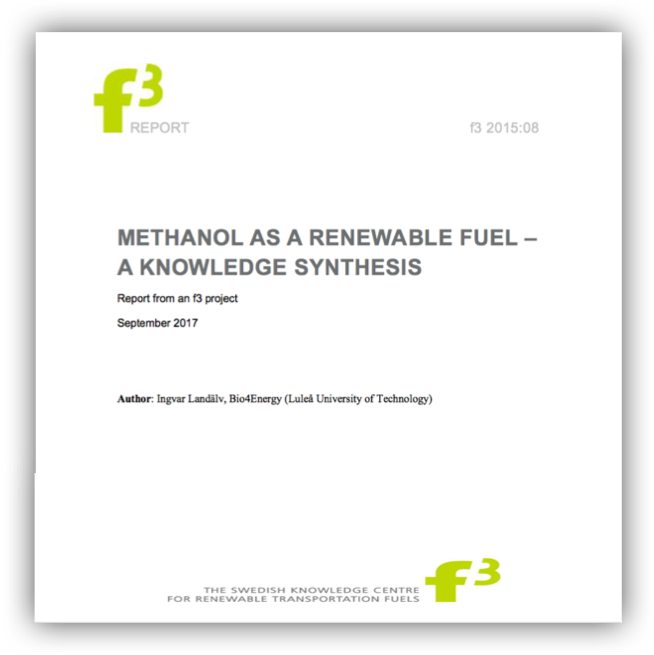 Methanol as a renewable fuel – a knowledge synthesis