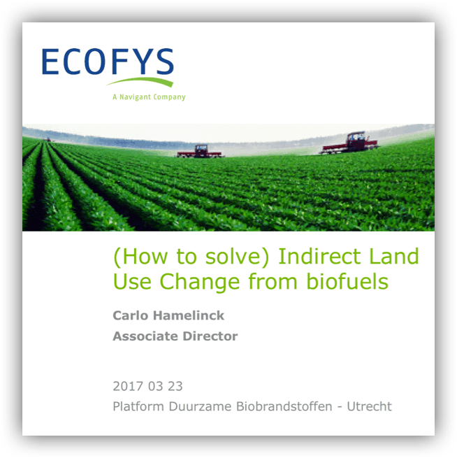(How to solve) Indirect Land Use Change from biofuels