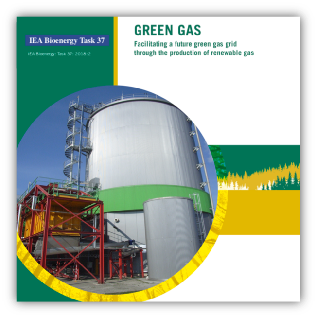 IEA Bioenergy Task 37 Green Gas – facilitating a future green gas grid