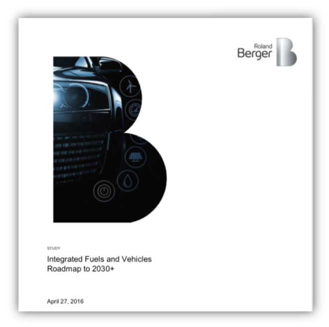 Integrated Fuels and Vehicles Roadmap 2030+