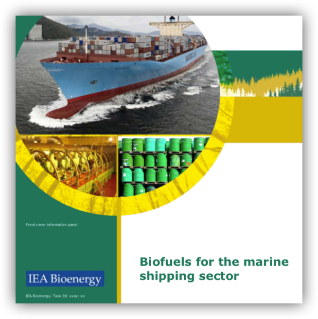 IEA Bioenergy – Biofuels for the marine shipping sector