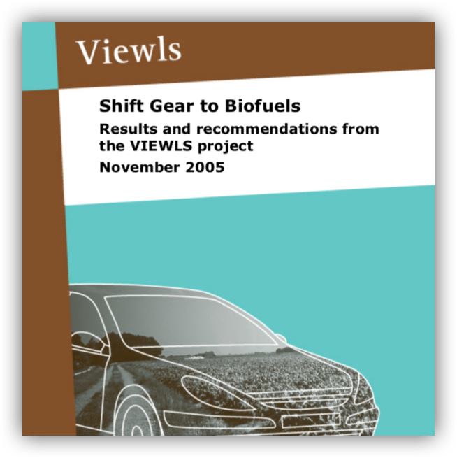 VIEWLS  – Shift gear to biofuels