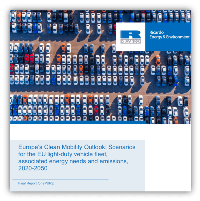 Ricardo –  Europe's Clean Mobility Outlook: Scenarios for the EU light-duty vehicle fleet, 2020-2050