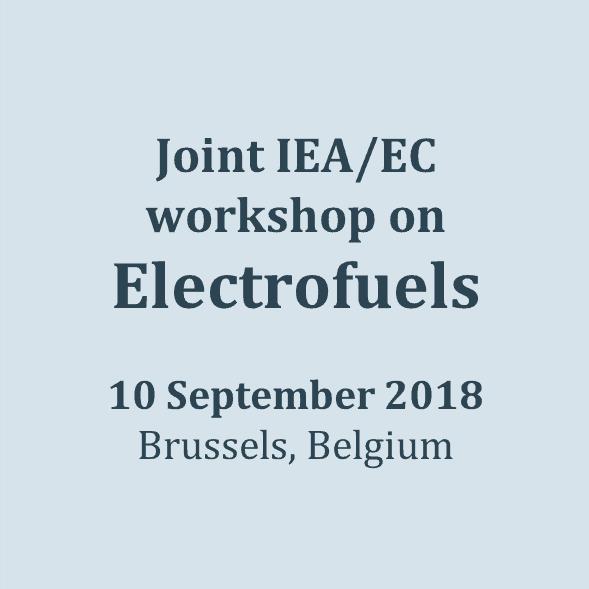 180910_Electrofuels, IEA, EC