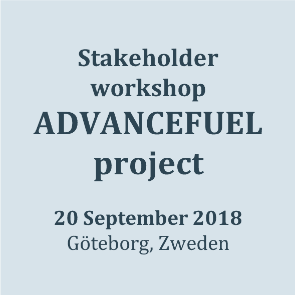 stakeholderworkshop ADVANCEFUEL-project