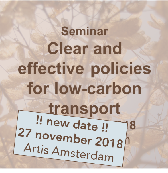 PDB-Seminar Clear and effective policies for low-carbon transport