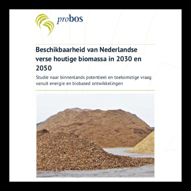Beschikbaarheid van Nederlandseverse houtige biomassa in 2030 en2050