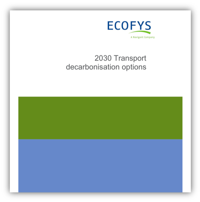 2030 Transport decarbonisation options