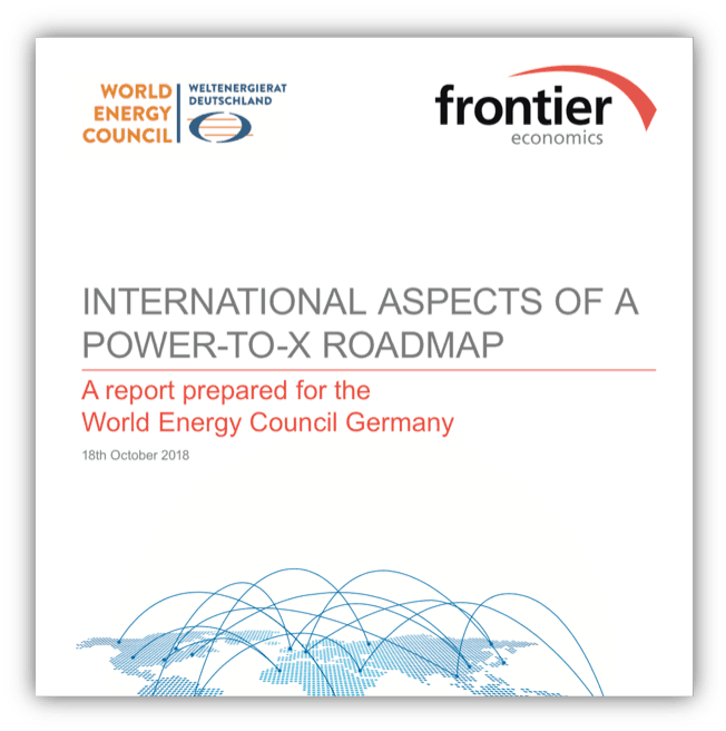 International aspects of a power-to-x roadmap