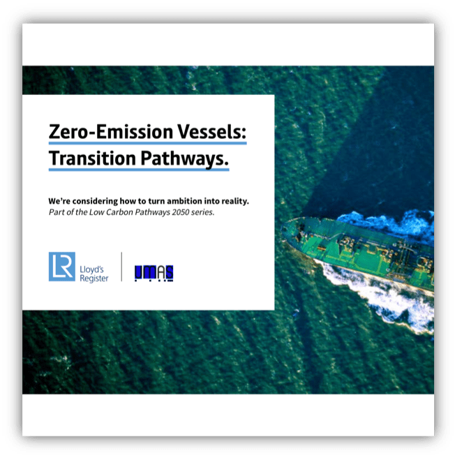 Zero-Emission Vessels: Transition Pathways