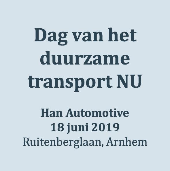 Dag van het duurzame transport NU
