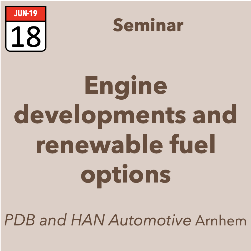 Engine developments and renewable fuel options