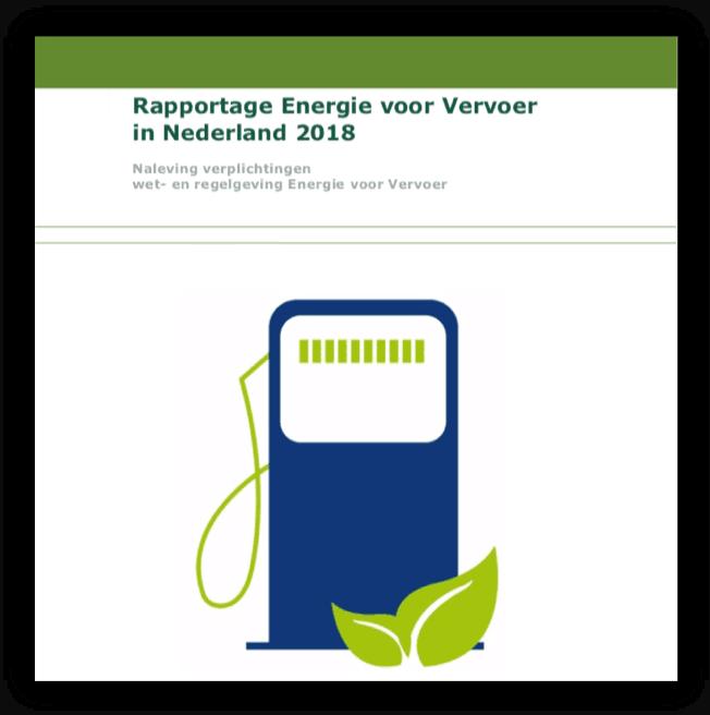 Rapportage Energie voor Vervoer in Nederland 2018