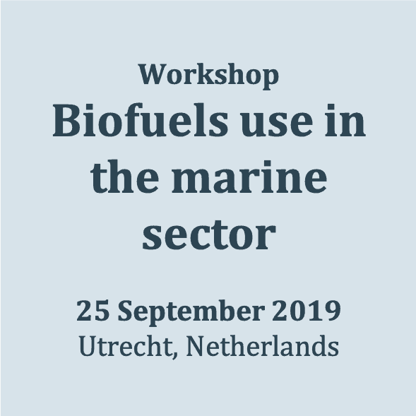 Biofuels in the marine sector