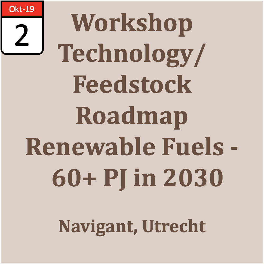 Workshop Technology/ Feedstock Roadmap Renewable Fuels