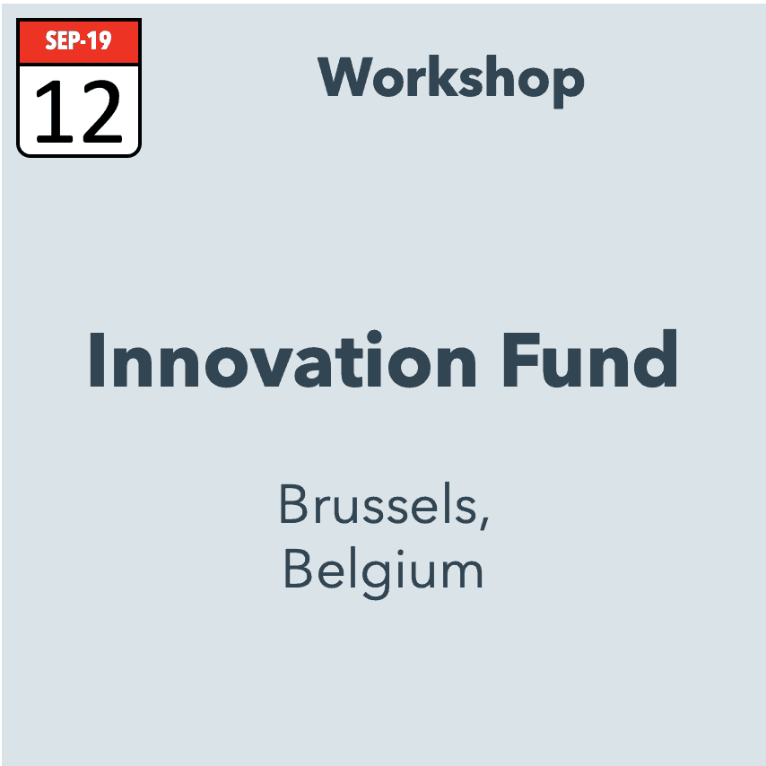 Innovation Fund Workshop