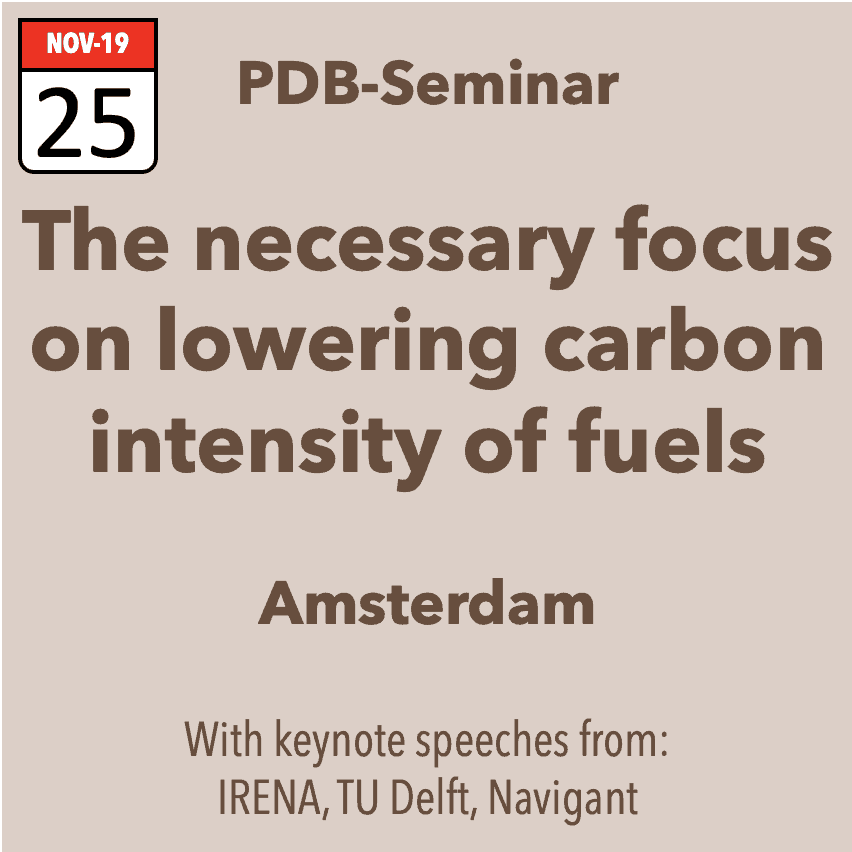 Seminar – the necessary focus on fossil free fuels