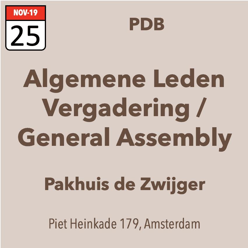 ALV / General Assembly PDB