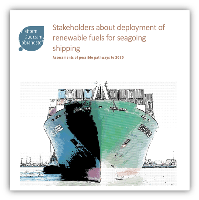 PDB – Navigant – Stakeholders view on renewable fuels in maritime sector