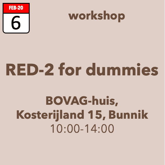 Workshop RED-2 for dummies