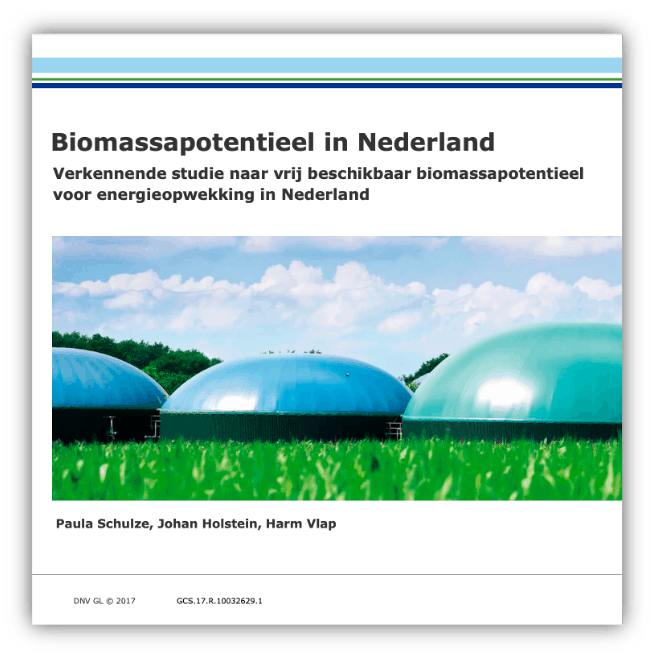Biomass potential in the Netherlands