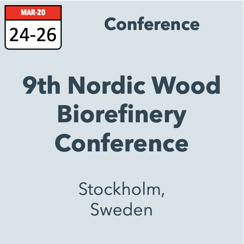 9th Nordic Wood Biorefinery Conference