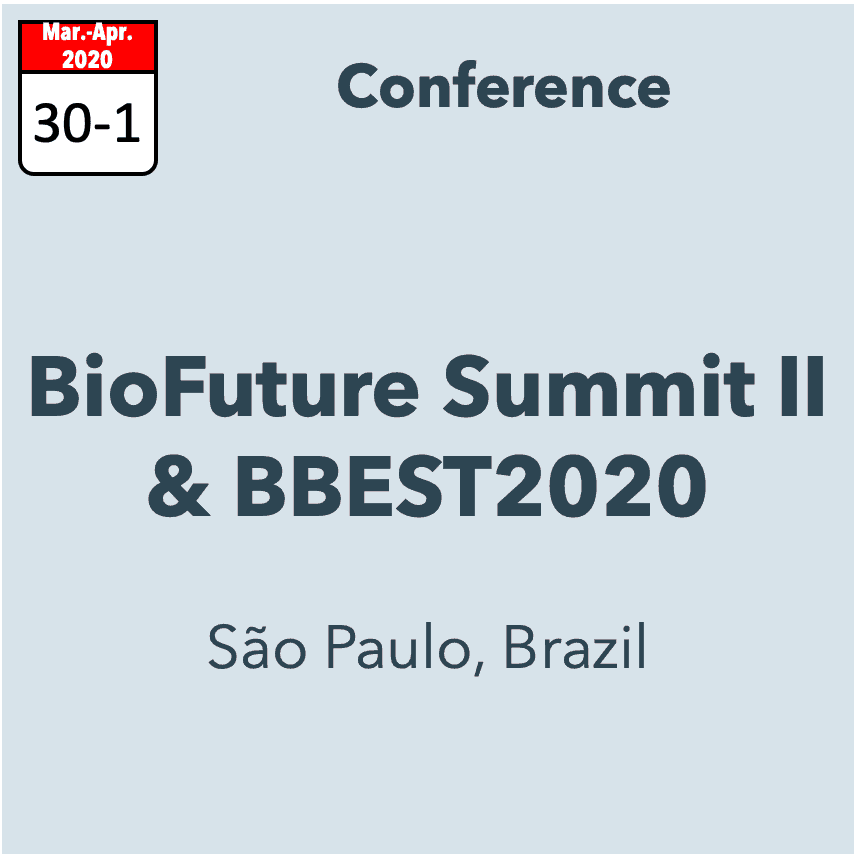 BioFuture Summit II & BBEST 2020