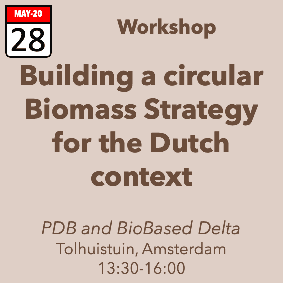 Workshop Building a circular strategy for bio-feedstocks in NL