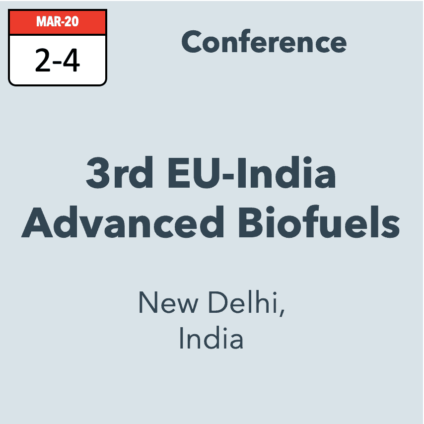 EU-India Advanced Biofuels Conference