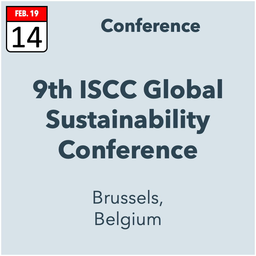 ISCC Global Sustainability Conference