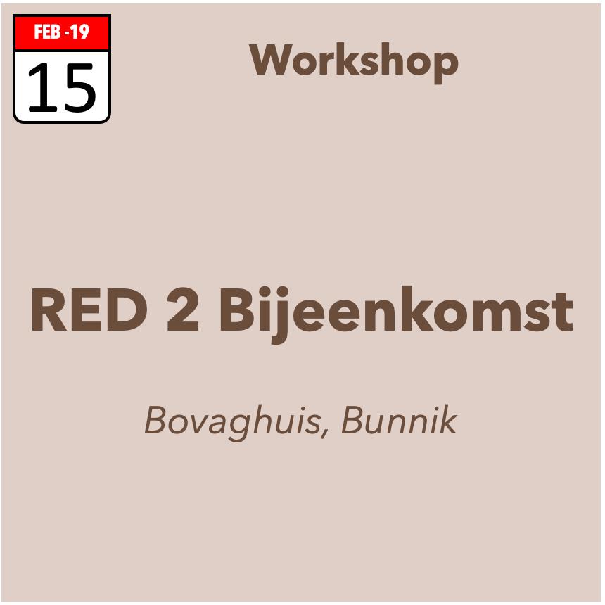 RED-2 bijeenkomst