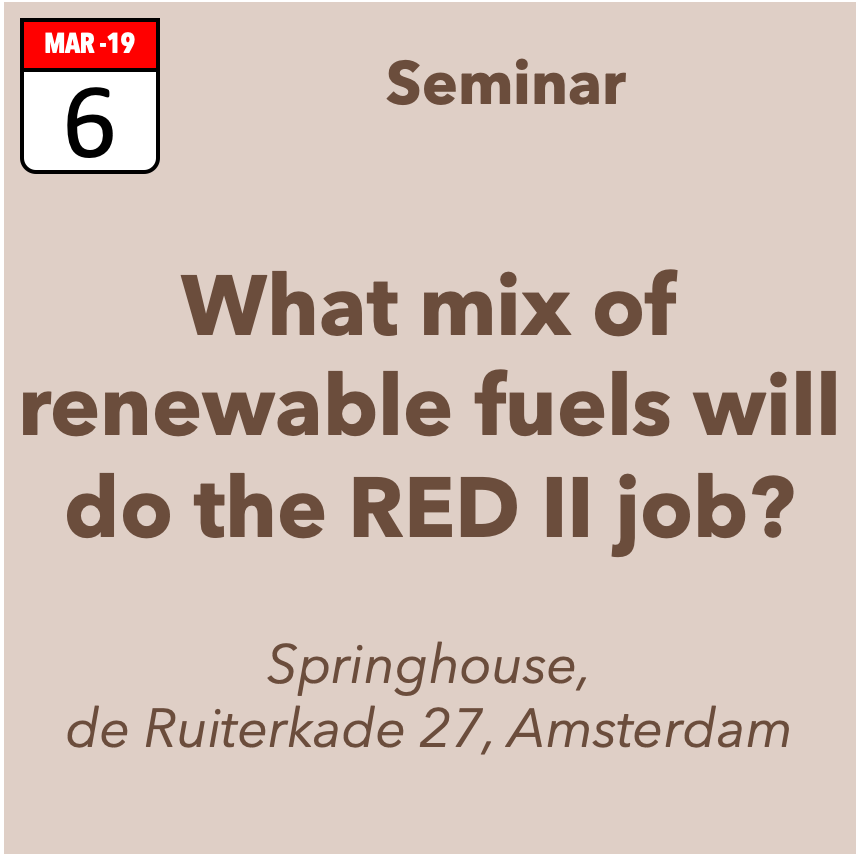 What mix of renewable fuels will do the RED-II job