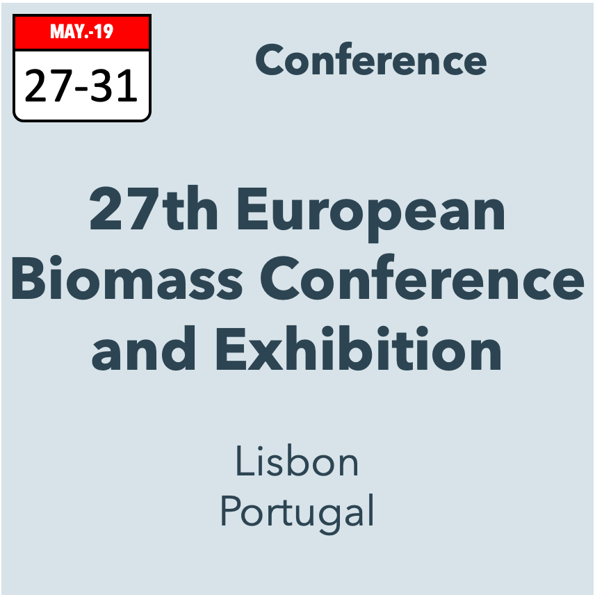 27th European Biomass Conference and Exhibition
