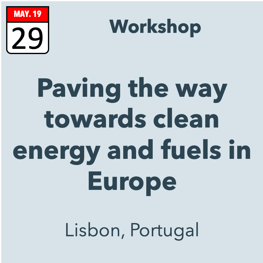 Paving the way towards clean energy and fuels in Europe