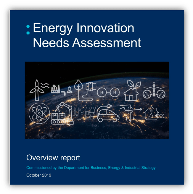Energy Innovation Needs Assessment Overview Report