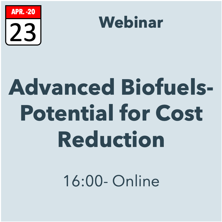 Advanced Biofuels- Potential for Cost Reduction