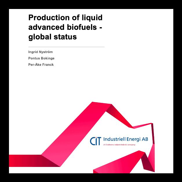 Production of liquid advanced biofuels – global status