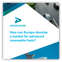 How can Europe develop a market for advanced renewable fuels?