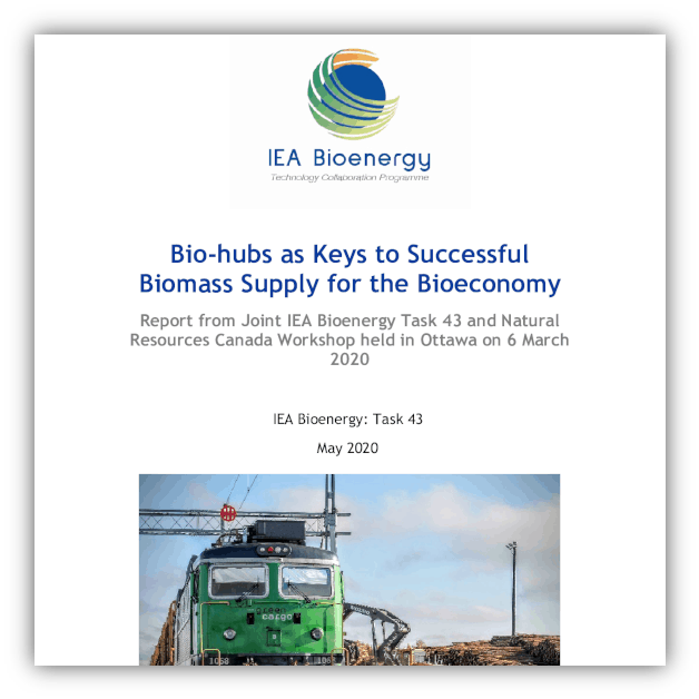 Bio-hubs as keys to successful biomass supply for the bioeconomy