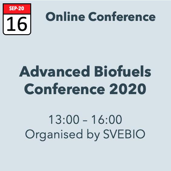 Advanced Biofuels Conference 2020