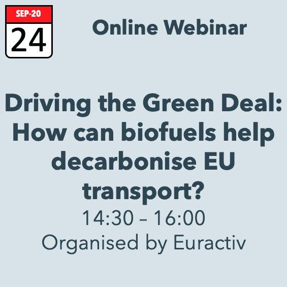 Driving the Green Deal: How can biofuels help decarbonise EU transport?
