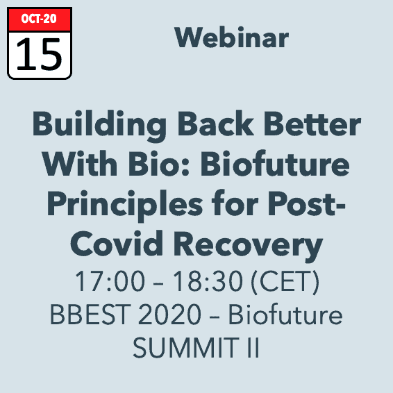 Building Back Better with Bio – Webinar