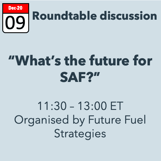 What's the Future for SAF? – a roundtable discussion