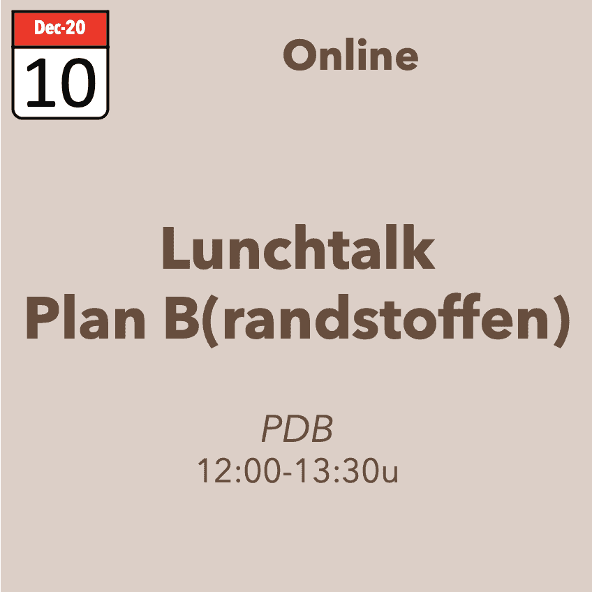 Lunchtalk – Plan Brandstoffen