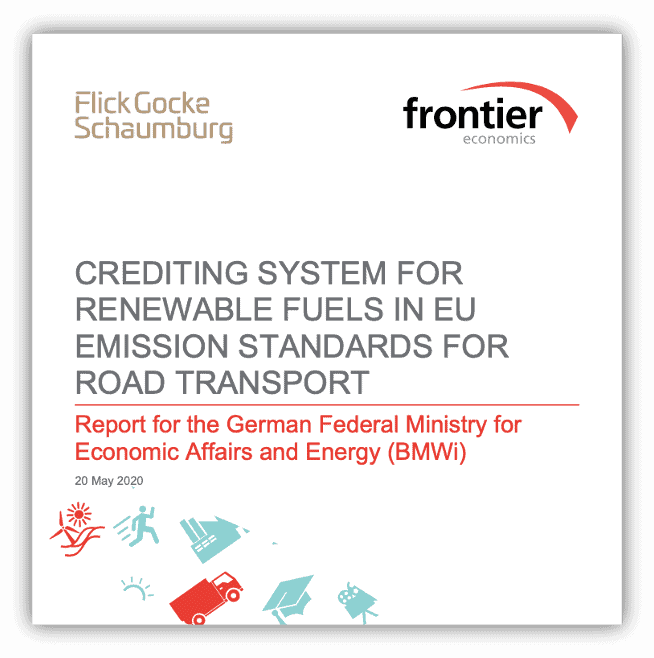 Crediting system for renewable fuels in EU emission standards for Road Transport