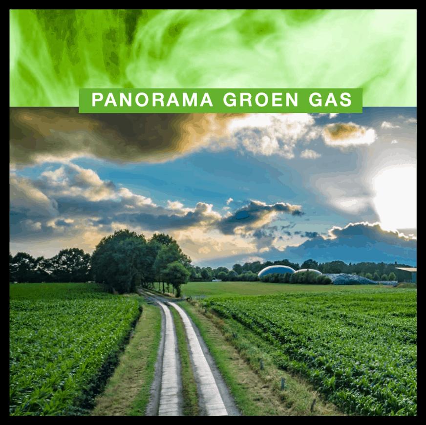 Panorama groen gas 2021